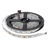 Optonica LED szalag beltéri  (30LED/m-7,2w/m) 5050/12V /hideg fehér/ST4801