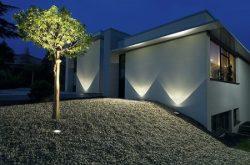 Talajba építhető LED