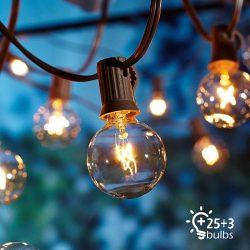 Kültéri fényfüzér